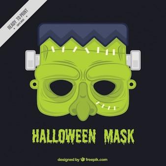 Máscara de halloween de zombi