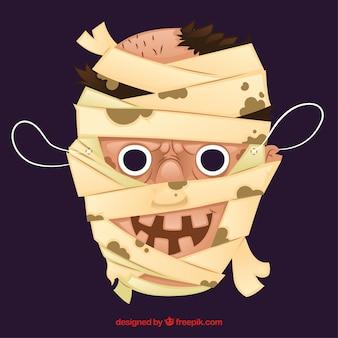 Máscara de la momia