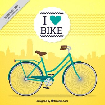 Me encanta mi bicicleta