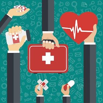Medicina y atención sanitaria icon