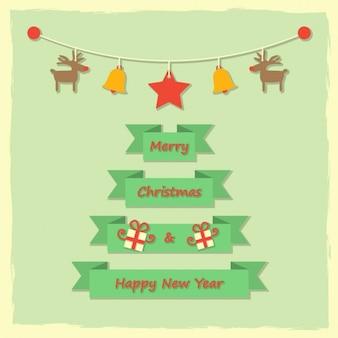 Mensaje de feliz navidad y feliz año nuevo