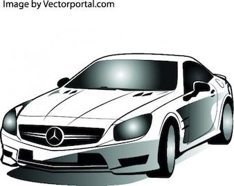 Mercedes coche