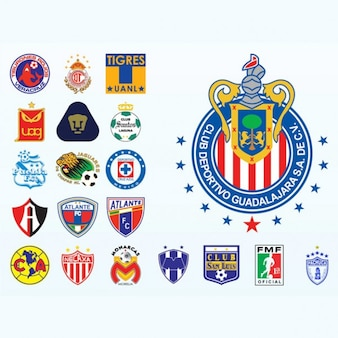 Mexican campeonato de fútbol vector logo