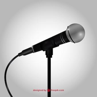 Micrófono Realista
