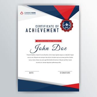 Modelo de certificado abstracto