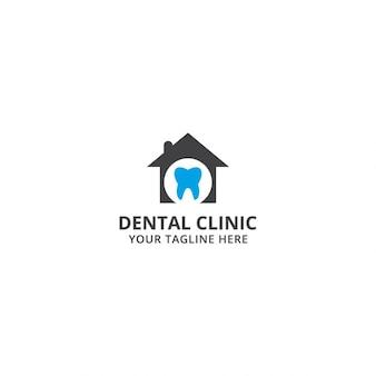 Modelo de logo de clínica dental