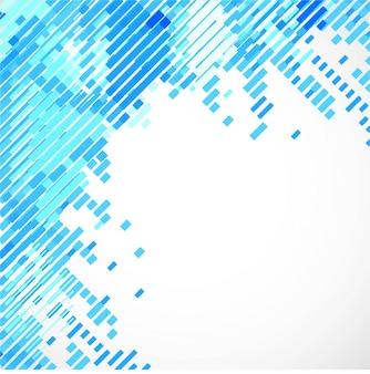 Moderno fondo de líneas azules