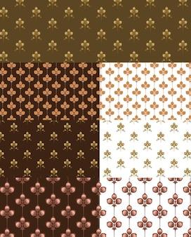motivos florales vector