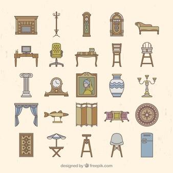 Muebles en estilo vintage