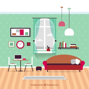 Muebles modernos sala de estar