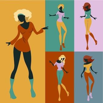 Mujeres del baile