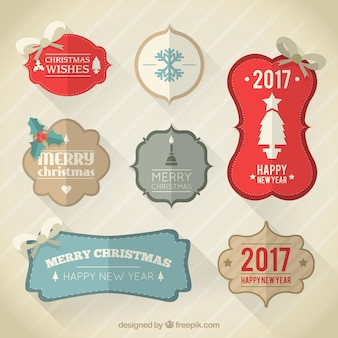 Navidad Labels Collection