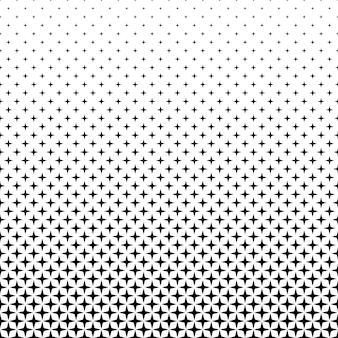Negro, blanco, estrella, patrón, -, Plano de fondo, gráfico
