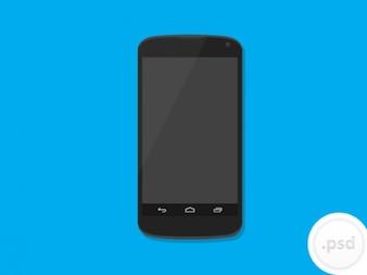 Nexus 4 maqueta