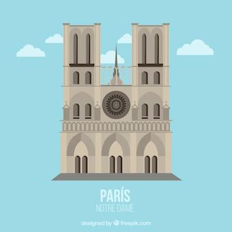 Notre Dame ilustración