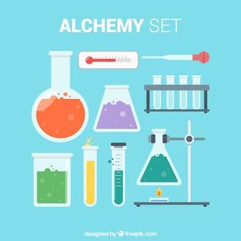 Objetos de laboratorio esenciales