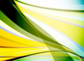 Olas de fondo abstracto