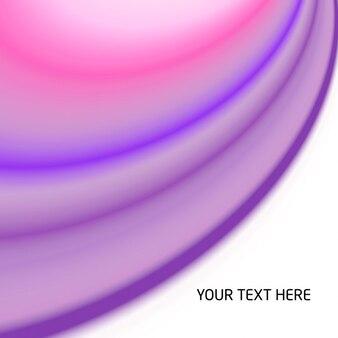 Ondas abstractas violetas