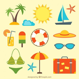 Pack de accesorios de playa