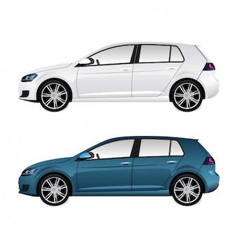 Pack de coches modernos