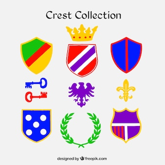 Pack de diferentes tipos de escudos