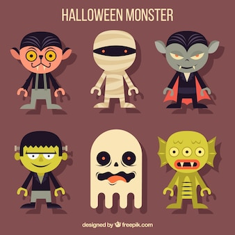 Pack de divertidos disfraces de halloween