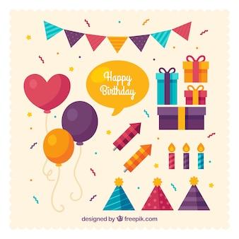 Pack de globos y decoración de cumpleaños