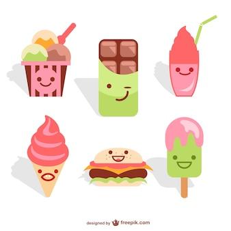 Pack de helados y dulces