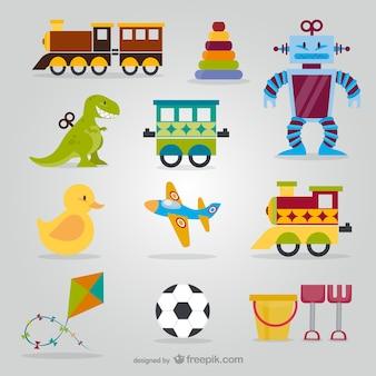 Pack de juguetes lindos