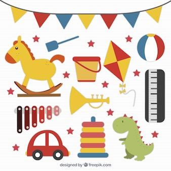 Pack de juguetes para niños