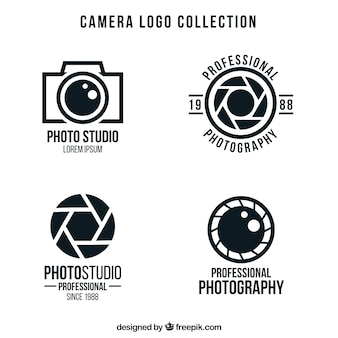 Pack de logotipos de cámaras