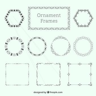 Pack de marcos elegantes ornamentales