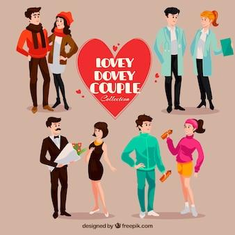 Pack de parejas en diferentes actividades