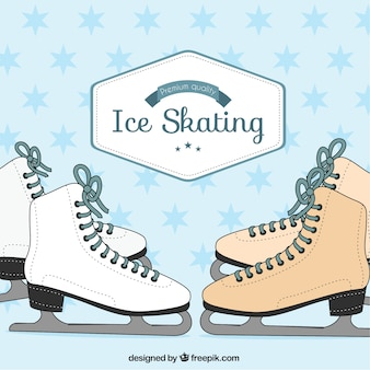 Pack de patinaje sobre hielo