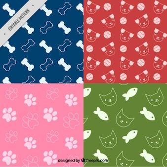 Pack de patrones de mascota