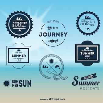 Pack de sellos de verano