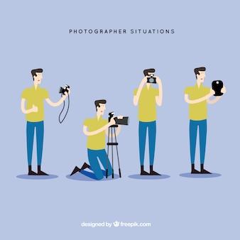 Pack de situaciones de fotógrafo