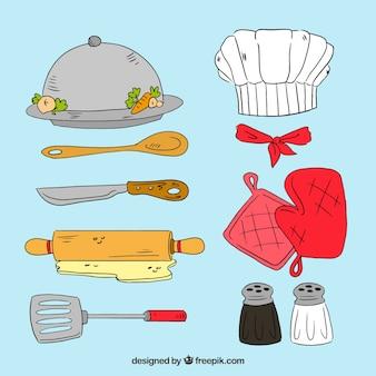 Limpiando herramienta bandeja descargar iconos gratis for Articulos de chef