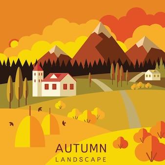 Paisaje de otoño