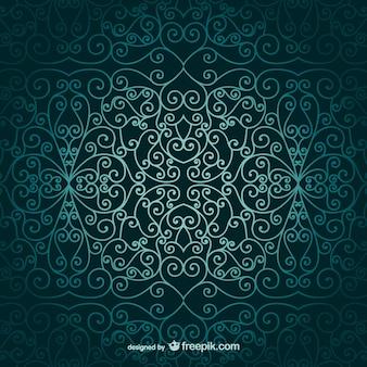 Papel pintado ornamental árabe