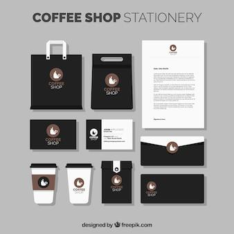 Papelería de cafetería