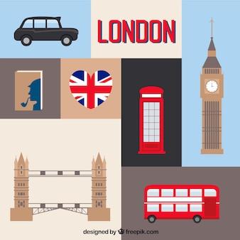 Paquete de elementos Londinenses