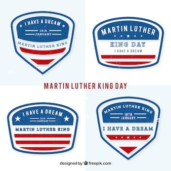 Paquete de insignias de Martin Luther King