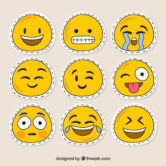 Parches de smileys