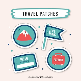 Parches sobre viajes