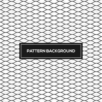 Patrón abstracto con malla ondulada