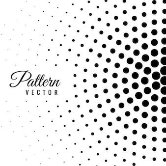 Patrón abstracto con puntos