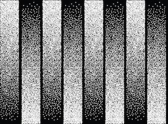 Patrón abstracto de puntos blancos y negros