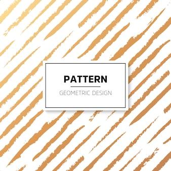 Patrón abstracto de rayas doradas