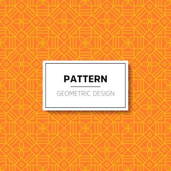 Patrón abstracto ornamental